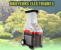 broyeur vegetaux electriques